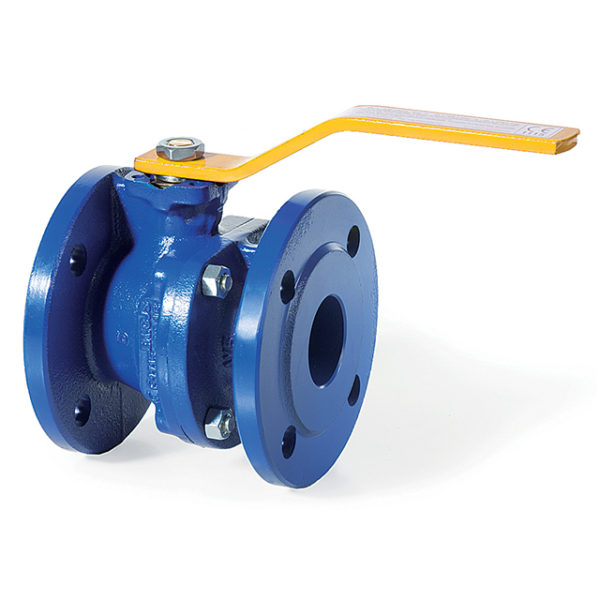 Zella Ductile Iron Ball Valve - Flanged PN16 - EN331 Gas Approved - RPTFE Seats - NBR O-Rings