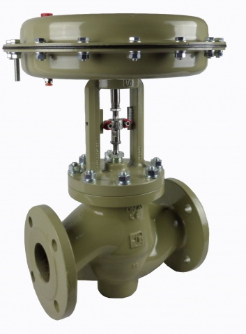 Zella Globe Control Valve, Flanged PN16, Size 1-1/2