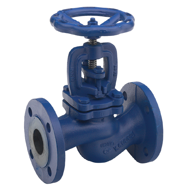 Zella Manual Cast Iron Globe Valve - Bellow Seal Type - Flanged PN16 - Handwheel